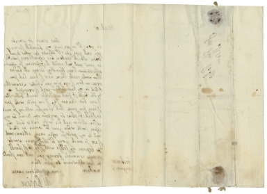 Autograph letter signed from Henrietta Webb, Bockmer End, to Lady Altham
