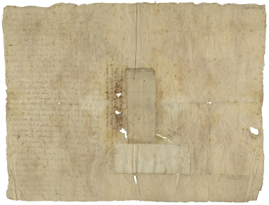 Autograph letter signed from Martin Miles, London, to Nathaniel Bacon, Norwich