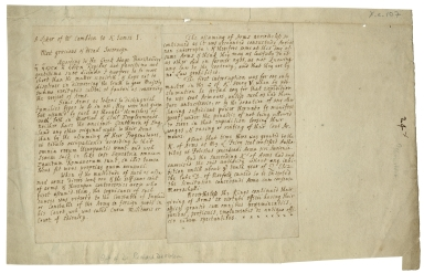 Copy of letter from William Camden to King James I, between 1603 and 1623