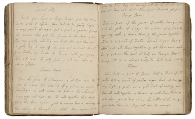 Cookbook of Elizabeth Langley [manuscript].