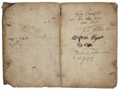 Medicinal and cookery recipes of Mary Baumfylde [manuscript].