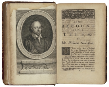 The works of Mr. William Shakespear : in six volumes : adorn'd with cuts / revis'd and corrected, with an account of the life and writings of the author, by N. Rowe, Esq