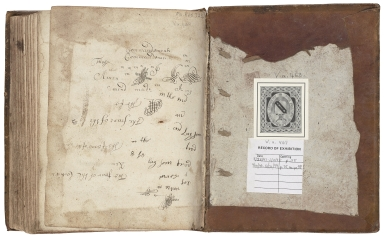 Cookbook of Elizabeth Fowler [manuscript], 1684.