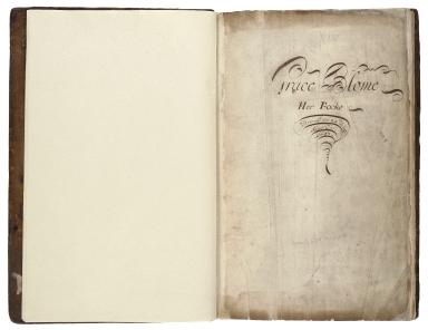 Cookbook of Grace Blome [manuscript].