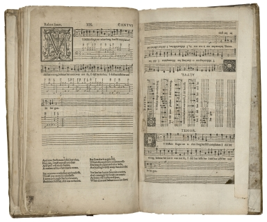 The first booke of songes or ayres of foure parts with tableture for the lute. : So made that all the parts together, or either of them seuerally may be song to the lute, orpherian or viol de gambo. Composed by Robert Iones.