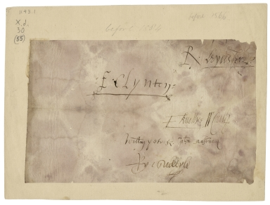 Signatures of the Privy Council