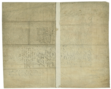 Warrant signed from Elizabeth I, Queen of England, to Sir Ambrose Cave