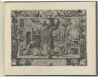 [The labors of the months] [graphic]. Robert-Dumesnil title: Douze mois de l���anne��e