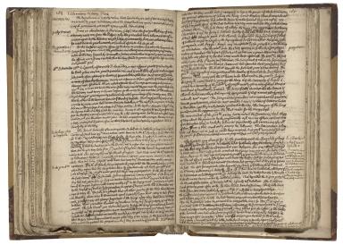Second book of history [manuscript], 1701-1722.