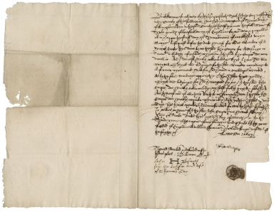 Acquittance from John Cooper, brewer of Hitchin, Hertfordshire, to Thomas Day of King's Walden, Hertfordshire