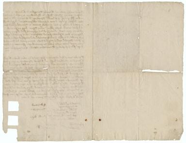 Bond from Edward Thruxston of Edworth, Bedfordshire, William Rushe of Millowbury in Dunton, Bedfordshire, and Edward Spurling of Edworth, Bedfordshire, to Thomas Bigg of Mangrove in Lilley, Hertfordshire