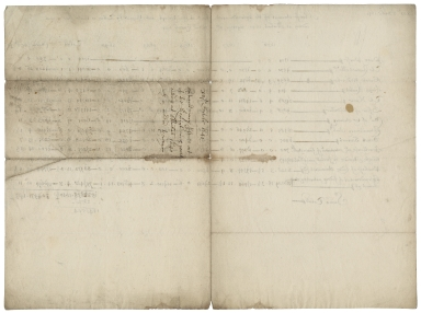 Accounts of extraordinaries issued by the Receipt of the Exchequer and assigned by tally