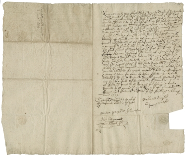 Acquittance from Richard Taylor of South Croson, Leicestershire, to James Biddle, late of Humberston, Leicestershire