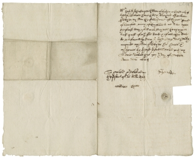 Acquittance from John Cooper of Hitchin, Hertfordshire to William Fletcher