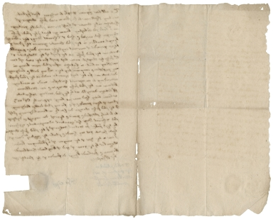 Acquittance from John Cooper of Hitchin, Hertfordshire, to Thomas Day the elder of Kings Walden