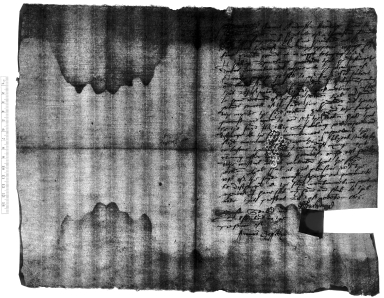 Discharge of encumbrances signed from Phillip Spurling to William Hale