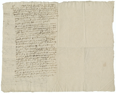 Agreement between Bernard Hale and Thomas Buckworth