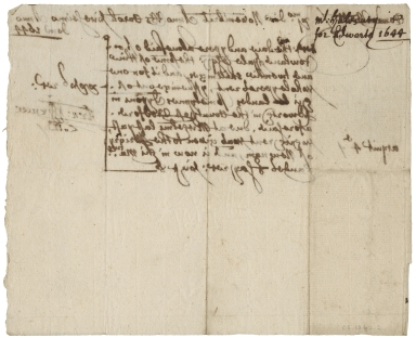 Acquittance from Arnold Spencer to Rowland Hale