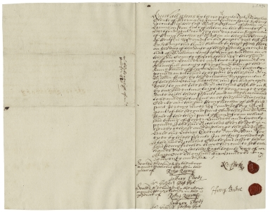 Acquittance from Nicholas Clerke of Barnard's Inn, London to William Hale of King's Walden, Hertfordshire
