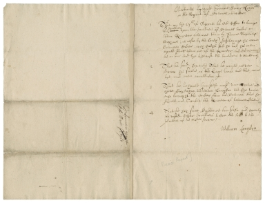 Articles against Sergeant Major Keyes in the regiment of Colonel Croker