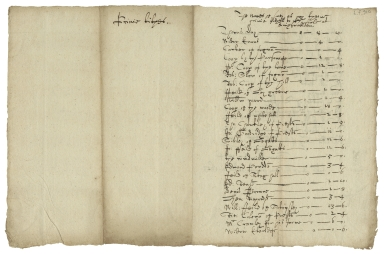 Account of privy tithes to William Hale, King's Walden, Hertfordshire