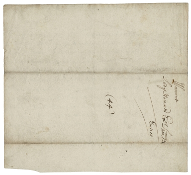 Authorization of payment by Laurence Hyde, Earl of Rochester from the Exchequer to Lady Henrietta Maria Howard's executors (incomplete)