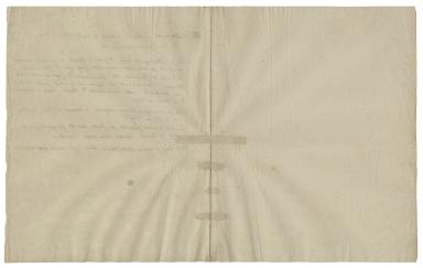 Autograph letter signed from Roberto Francesco Romolo, Saint Bellarmino, to Signor Antonio Cervini, Montepulciano