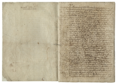 [Will and codicil of Mary I, Queen of England] Copy of will and codicil of Mary I, Queen of England