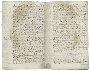 Copy of an account of the conspiracy and trial of Dr. Roderigo Lopez, ca. Nov. 1593- Mar. 1594