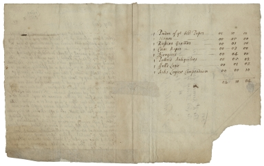 Autograph letter signed from John Postlethayt, London, to [John Moore], bishop of Norwich