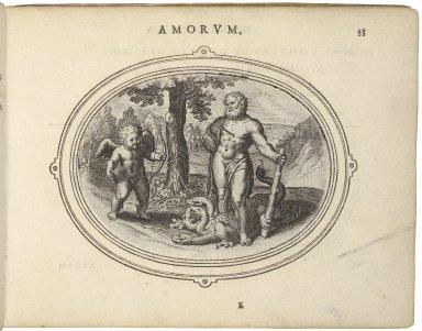 Amorum emblemata, figuris æneis incisa studio Othonis VænI Batauo-Lugdunensis. =Emblemes of loue. With verses in Latin, English, and Italian.