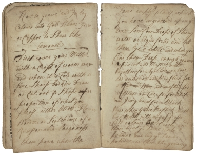 Miscellaneous collection of receipts [manuscript]