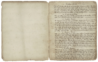 Cookbook of Mary Cruso and Timothy Cruso [manuscript], 1689 September 5.