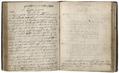 Cookbook of Susanna Packe [manuscript].