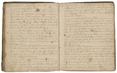 Receipt book of Dorothy Stone [manuscript].
