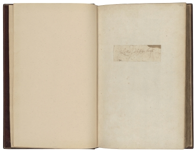 Cookery book of Lettis Vesey [manuscript].