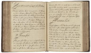 Cookeries [manuscript].