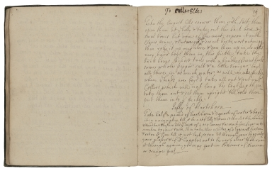 Cookery book of Jane Webb, compiled by several people [manuscript].
