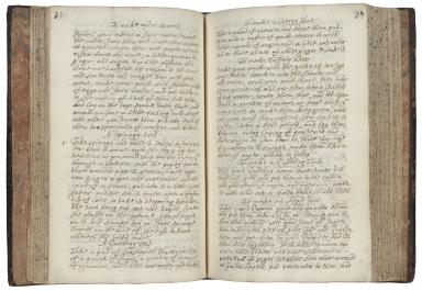 Manuscript cookery book containing more the four hundred and fifty recipies. [manuscript]
