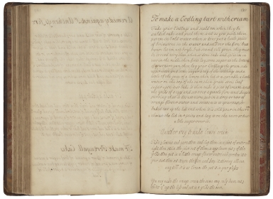 Cookery and medicinal recipes of M.W. [manuscript].