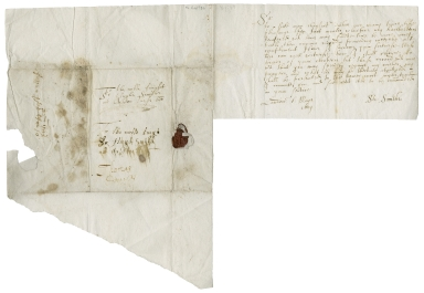Autograph letters signed from Stephen Smith, London, to various recipients
