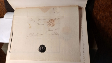 Autograph letter signed from Richard Valpy to Dawson Turner Esqr., Yarmouth, Norfolk [manuscript], 1823 September 13.