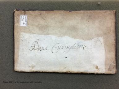 Miscellany of Diana Cunningham [manuscript], ca. 1709-ca. 1722.