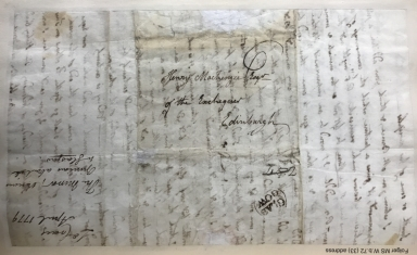 Autograph letters signed from Henry Mackenzie to Lord Craig [manuscript], 1774-1806.