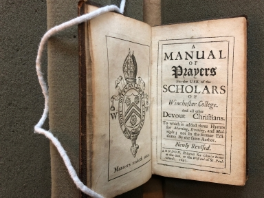 A manual of prayers : for the use of the scholars of Winchester College. And all other devout Christians. To which is added three hymns for morning, evening, and midnight; not in the former editions: by the same author.