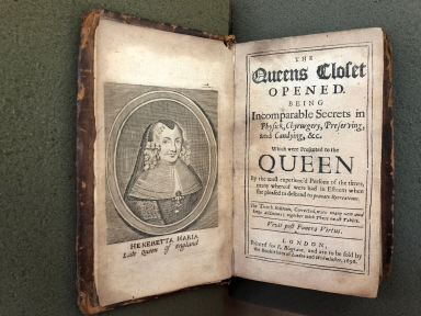 The Queens closet opened. : Being incomparable secrets in physick, chyrurgery, preserving, and candying, &c. Which were presented to the Queen by the most experienc'd persons of the times, many whereof were had in esteem when she pleased to descend to private recreations.
