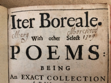 Iter boreale. : With other select poems: being an exact collection of all hitherto extant. And some added: never printed before this year, 1671. The author R. Wild, D.D.