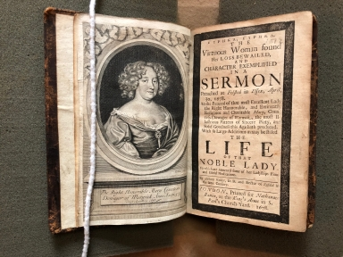 Eurēka, Eurēka. The virtuous woman found her loss bewailed, and character exemplified in a sermon preached at Felsted in Essex, April, 30, 1678. : At the funeral of that most excellent lady the right honourable, and eminently religious and charitable Mary, Countess Dowager of Warwick, the most illustrious pattern of sincere piety, and solid goodness this age hath produced. With so large additions as may be stiled the life of that noble lady. To which are annexed some of her ladyships pious and useful meditations. By Anthony Walker, D.D. and rector of Fyfield in the same county.