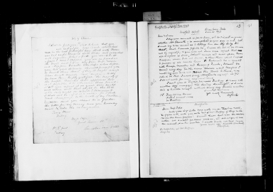 Copies of letters to Jane Pope from various people, 1769-1808, in the hand of James Winston [manuscript], ca. 1840.