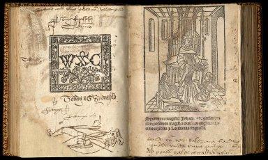 Synonima magistri Iohannis de garlandia cu[m] expositione magistri Galfridi anglici: nup[er]rime correcta [et] Londoniis impressa.